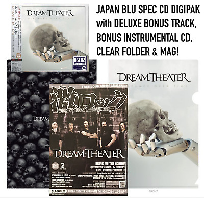 Japan Clearfile + Mag + Bonus Cd! Dream Theater Distance Over Time Blu Spec 2 Cd