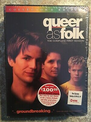 Queer as Folk - The Complete 1st Season SEALED - DVD, 6-Discs, Collector's Ed.