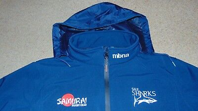 54c4ee0ce92 Men's Samurai Sale Sharks Rugby Performex System Softshell Jacket Large in  Blue