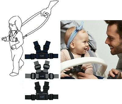 Baby Kid TODDLER SAFETY HARNESS Learning Walk Assistant Walking Reins Washable