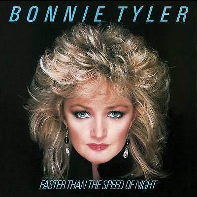 Bonnie Tyler **Faster Than The Speed Of Night *NEW 180 GRAM BLUE RECORD LP VINYL