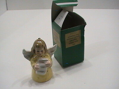 Goebel Angel-Bell Annual Christmas Tree Ornaments 1981 6th edition