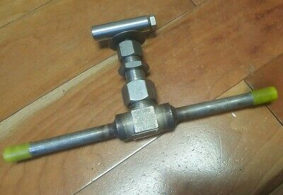 DRAGON VALVES KJ1005 NEEDLE VALVE 316SS 3600 PSI at 100F