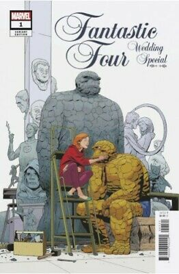 Fantastic Four Wedding Special #1 Martin Variant 1:25