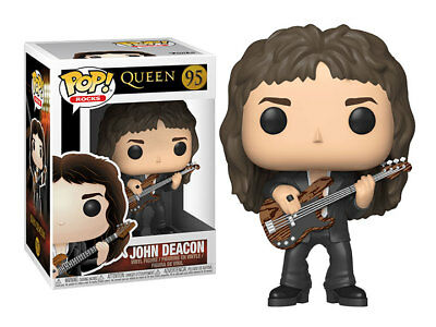 FUNKO POP ROCKS QUEEN John Deacon 4 inch VINYL pop FIGURE new!