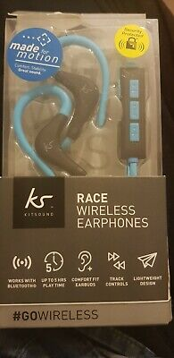 2463d254b52 Kitsound Race Wireless Bluetooth Sports Headphones Earphones - blue,Go  wireless