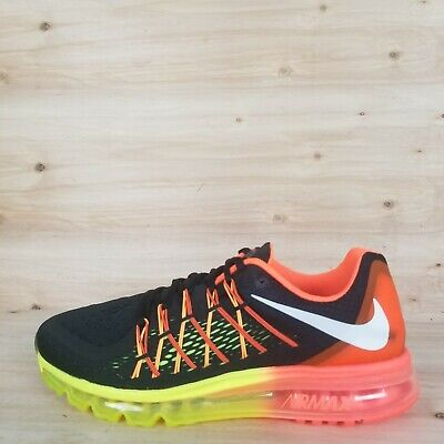 f51e66215fca NEW  NIKE AIR Max 2015 Men s Size 6 Running Shoes Black White 698902 ...