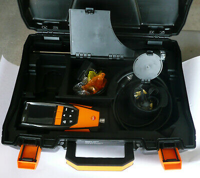 Testo 0632 3220 Flue Gas Analyzer 320 kit with case (see photos for details)