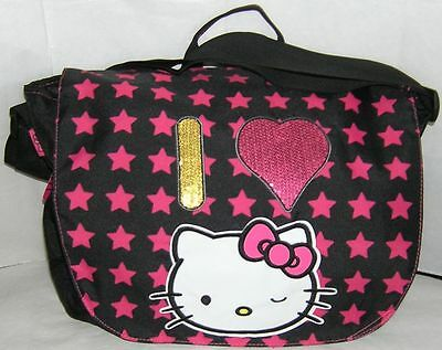 Hello Kitty LAPTOP MESSENGER BAG FREE USA SHIPPING NWT a012493abc