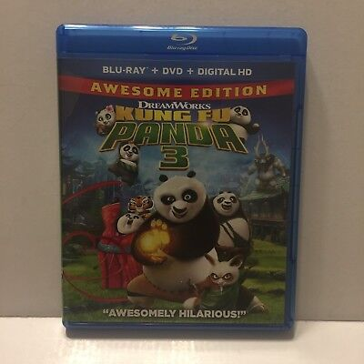 Kung Fu Panda 3 Single Blu-Ray Disc Only (No DVD or Digital Download Included)