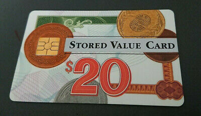 1996 $20 Visa Cash Card - Anz Bank In House Trial - 11/95 Expiry - Rare - Mint