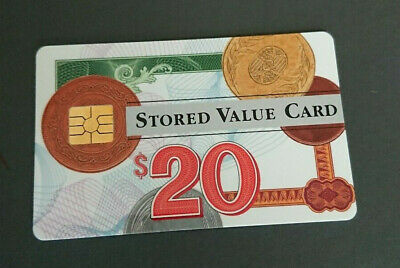 1996 $20 Visa Cash Card - Anz Bank In House Trial - 02/96 Expiry - Rare - Mint