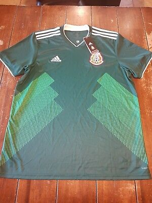 80084f163 Adidas 2018 World Cup Mexico Men s Home Jersey BQ4701 Mens size XXL New  Original