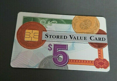 1996 $5 Visa Cash Card - Credit Union In House Trial - 06/96 Expiry - Rare -Mint