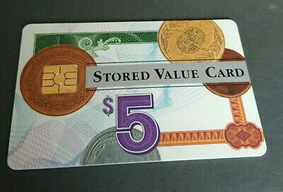 1995 $5 Visa Cash Card - Credit Union In House Trial - 11/95 Expiry - Rare -Mint