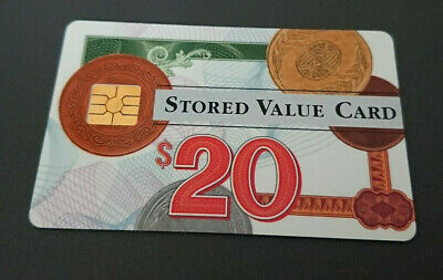 1996 $20 Visa Cash Card - Credit Union In House Trial - 06/96 Expiry -Rare -Mint