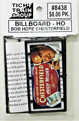 Tichy Train Group Chevy Convertible Billboard Kit #8417 HO Scale New
