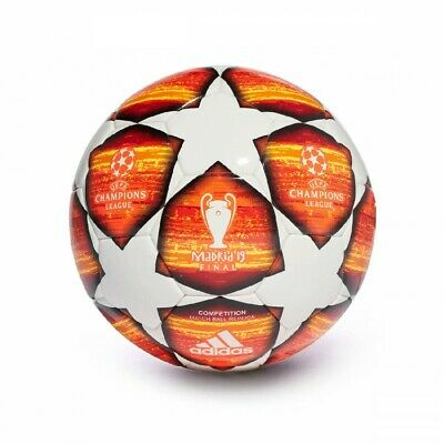 Balón adidas Finale Madrid 19 Competition White-Active red-Scarlet-Solar red