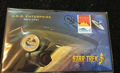 2016 One Dollar - Pnc -*star Trek - Uss Enterprise - Out Of This World* Coloured