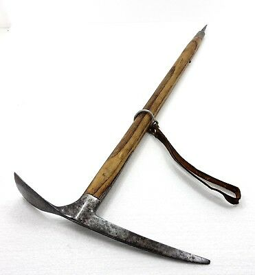 Rare Unusual Climbing Pickle Axe Ice Axe