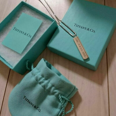 TIFFANY & Co 1837 Plate Necklace Silver 925 Pre Owned From Japan Free Shipping