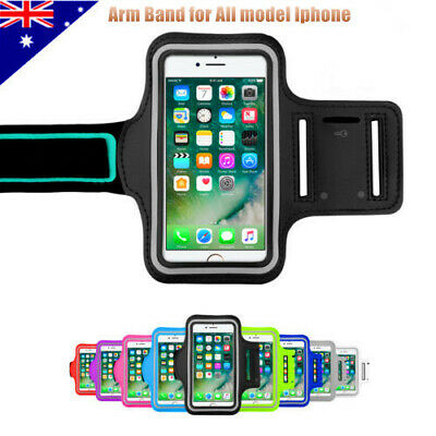 Sport Gym Running Exercise Jogging Armband iPhone XS Max XR X 8 Plus Arm band OZ
