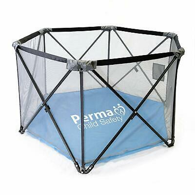 Kids Fabric Safe Playpen Portable and Travel Friendly Water Resistant Floor