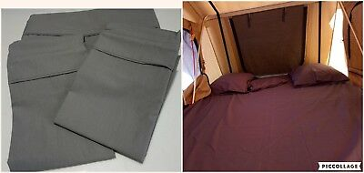 250 TC Full Fitted Sheet Set Rooftop Tent / Roof Top / Camping