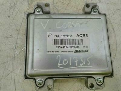 ENGINE ECU Vauxhall Corsa 2014 On 1.4 Petrol B14XEJ & WARRANTY - 7419023