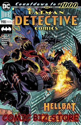 Detective Comics #998 (2019) 1St Printing Main Cvr Dc Universe Bagged & Boarded