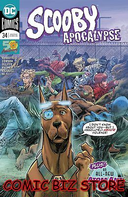 Scooby Apocalypse #34 (2019) 1St Printing Main Cover Bagged & Boarded Dc Comics