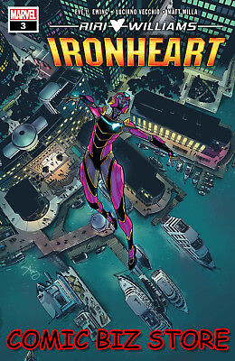 Ironheart #3 (2019) 1St Printing Bagged & Boarded Marvel Comics