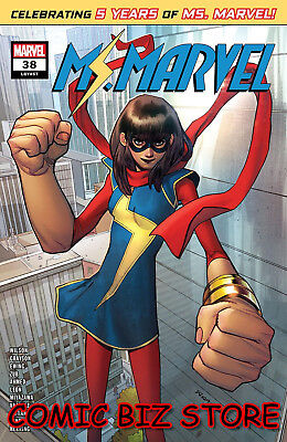 Ms Marvel #38 (2019) 1St Printing Bagged & Boarded Marvel Comics