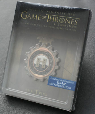 Ovp - 5 Blu Ray Disc - Game Of Thrones Steelbook - Staffel 3 - Deutscher Ton