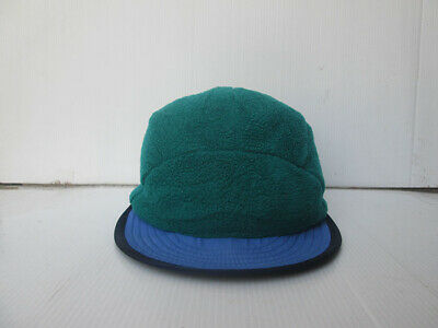 Patagonia Duck bill Hat Cap Fleece Ear flap Winter Snow Colors size M USA  Made afda9aabcf05