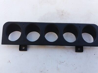 Peugeot 205 GTi and Others 5 Button Switch Surround BLACK