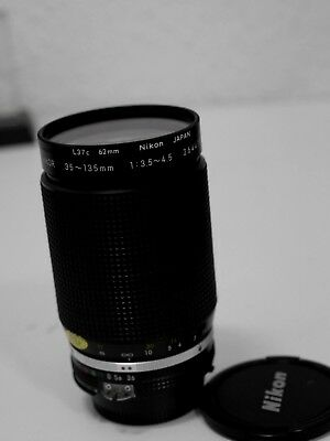 Nikon  Zoom Nikkor 35-135mm f 3.5-4.5  AI-S very good condition