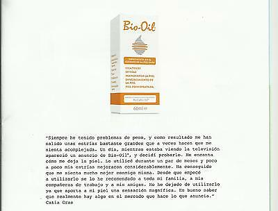Bio Oil Aceite para cicatrices y estrias 60 ml