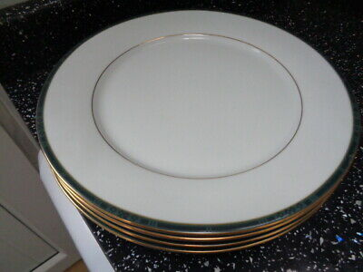 Boots Hanover Green Dinner Plates X 4