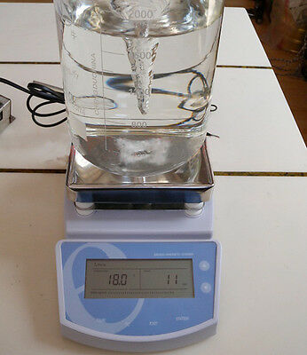 MS-300 Digital Hot Plate Magnetic Stirrer Mixer 220V