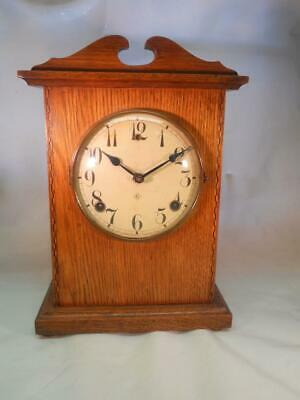 Antique American Striking Mantel Clock Working, for Spares or repair