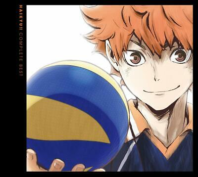Haikyu Complete Best Limited Edition with DVD Japan Anime From japan
