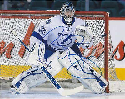1c85088f3 BEN BISHOP SIGNED Tampa Bay Lightning Jersey Psa dna Authenticated ...