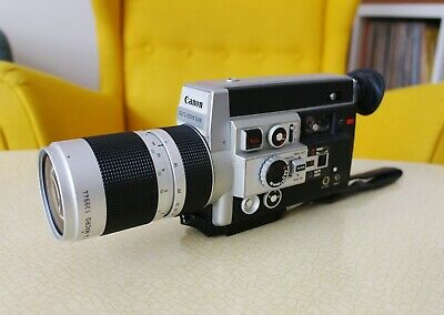 Canon Auto Zoom 1014 Electronic Super 8 camera super8 autozoom TESTED!