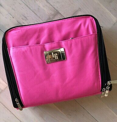 d0e1d048877 ULTIMATE COSMETIC ORGANIZER Case by Lori Greiner, PINK - NEW in box ...
