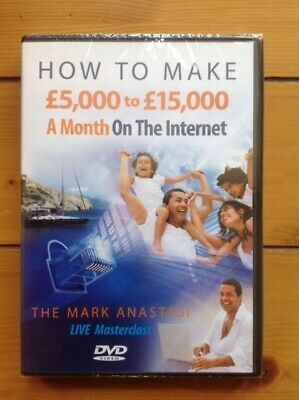 How to Make £5-£15000 a Month on the Internet - 5 DVD Set by Mark Anastasi