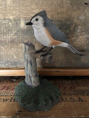 Hand Carved titmouse