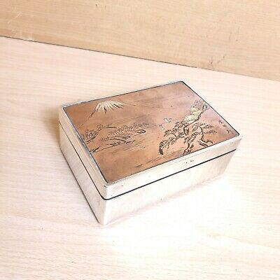 Chinese / Japanese Silver Box