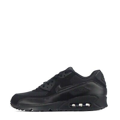 half off 2a67e 4829e Nike Air Max 90 Essential Men s Trainers Triple Black   Odd Pair