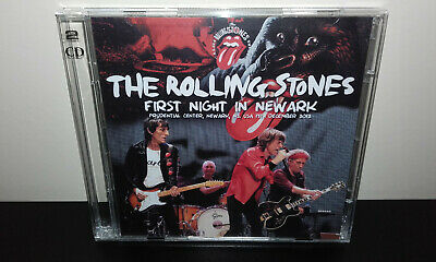 The ROLLING STONES : First Night In Newark (Japan 2CD) Live in NJ 2012 Promo CD